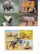 United Nations Vienna 1995 Wildlife Maximum Card FDC Unused VGC