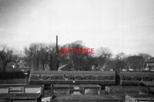 PHOTO  1958 HATFIELD RAILWAY STATION FROM THE FOOTPATH TO THE WEST A DIESEL MULT
