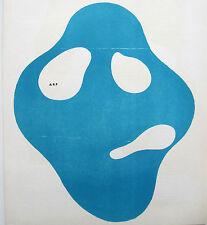 """HANS ARP JEAN """"DERRIÈRE LE MIROIR"""" 33 MAEGHT PARIS 1950, 3 FARBIGE HOLZSCHNITTE"""