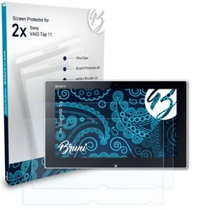 Bruni 2x Protective Film for Sony VAIO Tap 11 Screen Protector Screen Protection