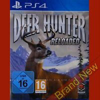 DEER HUNTER Reloaded PlayStation 4 PS4 ~ Import Game in English - Brand New!