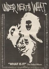 21/10/89Pgn26 Advert: Under Neath What 'what Is It' Their Debut Album 15x11