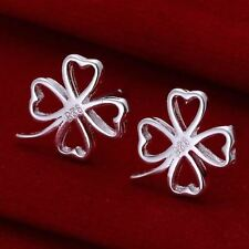 Silver Plated Luck Costume Earrings