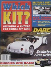 Which Kit? magazine 11/2000 featuring Dare TG Sport, GT Buggy