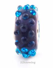 Authentic Trollbeads Glass Blue Fizz 61332 (Incl. Orig. Packaging)