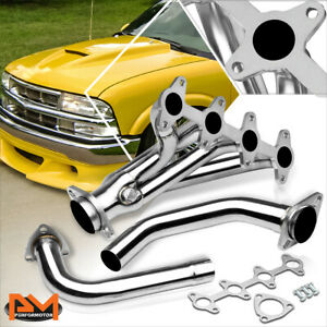 For 94-04 Chevy S10/GMC Sonoma Pickup 2.2L Stainless Steel Exhaust Header+Gasket