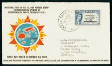 MayfairStamps Fiji 1963 Commonwealth Pacific Telephone Cable First Day Cover WWG