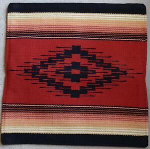Old Saltillo Pillow Cover 4-HASAL 20X20 Handwoven Acrylic Southwestern Southwest