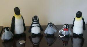 Needle Felted Penguins - various designs Free UK Postage