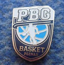PBG BASKET POZNAN BASKETBALL POLAND CLUB PIN BADGE