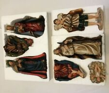 "Large Nativity Set - Impressive 10"" 7 pcs Beautifully Detailed Home / Church"