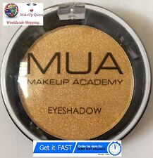 MUA Makeup Academy Golden Eyeshadow Mono Pearl Shimmer Eye Shadow