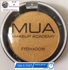 MUA Makeup Academy GOLDEN Ombretto Mono Perla Shimmer ombretto