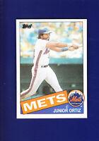 Junior Ortiz 1985 TOPPS Baseball #439 (NM+) New York Mets