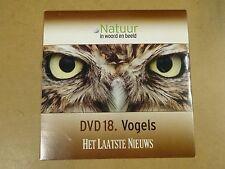 DVD HET LAATSTE NIEUWS / NATUUR IN WOORD EN BEELD - DVD 18 - VOGELS