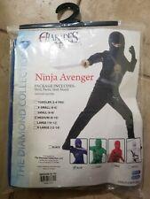 Ninja Costume Kids Halloween Fancy Dress NEW