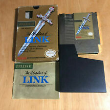 Nintendo NES Boxed Game Complete - Zelda II the Adventure of Link