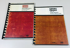 J I CASE 580 CK TRACTOR LOADER BACKHOE OPERATORS OWNERS MANUAL MAINTENANCE SET