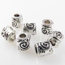 Tibet Silber Perlen Geschenk 6x5.5mm Herzen fit Schmuck TS0125 ca 150stk