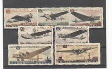 Russia 1937 Aviation Exhibition Airmails Set