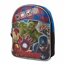 """Marvel Avengers Age of Ultron Group Close Up Mini Backpack-11"""" #359755"""