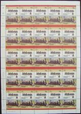 1859 LNWR Lady of the Lake Class Train 50-Stamp Sheet (Leaders of the World)