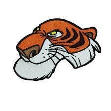 Jungle Book Tiger Shere Khan Iron-On Patch Disney Character DIY Project Applique