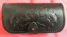 Black Leather 6x 7.62 .308 .223 Rifle Ammo Holder, Belt Pouch, New