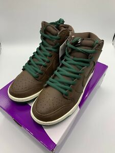 "NIKE SB DUNK HIGH ""BAROQUE BROWN"" CV1624-200 authentic From Japan"