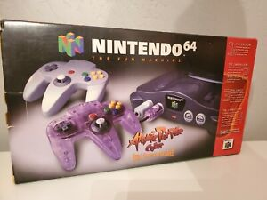 Nintendo 64 Console In Box Excellent Condition,  Expansión Pack! ATOMIC PURPLE!!