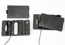 2 Stück Batterie Akku Kasten Halter Fach Pack 6 AA Zellen für Gehäuseeinbau neu
