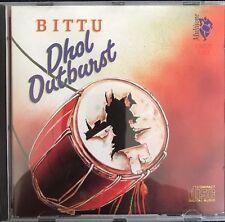 Dhol Outburst - BITTU - Bhangra CD Multitone.  Disc/s look unplayed. DMUT1251