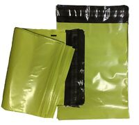 Lime Green Mailing Bags Plastic Mail Post Postage Polythene Strong Seal