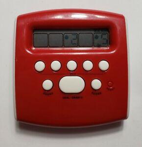 2008 Radica Electronic Pocket Poker Game Mattel