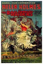 THE RAILROAD RAIDERS Movie POSTER 27x40 Helen Holmes Thomas G. Lingham Leo D.