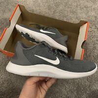 Nike Flex 2018 RN Trainers Size UK 7.5 EUR 42 Grey AA7397 016 NEW