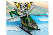 2010 Matchbox Skybusters Air Blade green