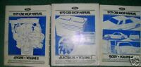 1979 Ford Car Engine Electrical Body Service Manuals