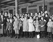 Historical Photograph Immigrants Arriving at Ellis Island New York  1908c 8x10
