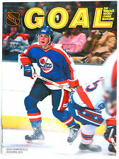 "(#757) Dale Hawerchuk on the Magazine cover of ""Goal"" 1984"