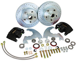 1966-69 Buick Riviera Front Disc Brake Conversion , Deluxe Kit with Up-Grades