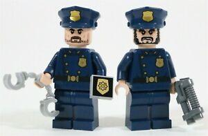 LEGO DARK KNIGHT GOTHAM POLICE MINIFIGURES DC BATMAN - MADE OF GENUINE LEGO