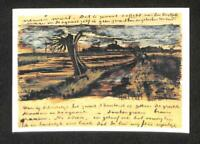 LUCKYPIGEON Vincent Van Gogh Brief Letter Painting Netherlands Postcard (C1628)
