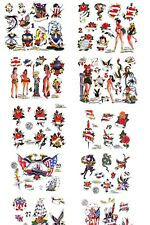 24 HR SALE - Traditional Tattoo Flash 1990s Collection, Lot, 1,087 Sheets