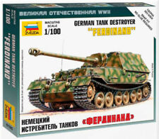 Zvezda 1/100 German Ferdinand Tank Destroyer Z6195