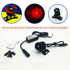 Six-in-one Car Decorative Colorful Light Waterproof For Rear-end Laser Fog Light