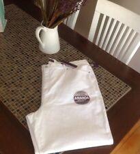NEW $48 Gloria Vanderbilt Women's 24W Amanda Jeans White Heritage STRETCH