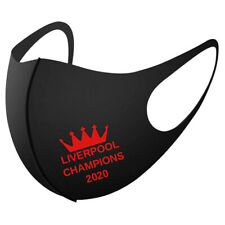 LIVERPOOL CHAMPIONS FACE MASK 2020 football League Printed Reusable club