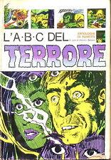 Fumetto - L'a.b.c. del terrore - AA.VV. - Ed. Sansoni Milano - 1972