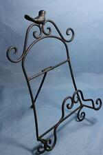 """Easel Cookbook Stand Black Metal Easel Picture Photo Frame Stand Display 12"""""""